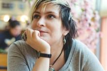Дизайнер одежды Ольга Примерова на Российской  неделе моды