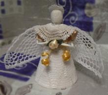 Рождественский ангел. Конкурс рукодельниц.